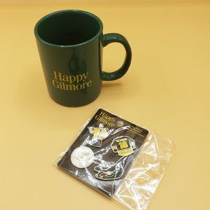 Funko Happy Gilmore Mug & Enamel Pins Set